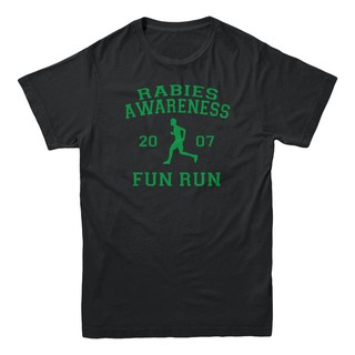 Rabies Awareness 2007 Fun Run The Office Scott Tv Show Sitcom Funny Men T-Shirt Father's Day