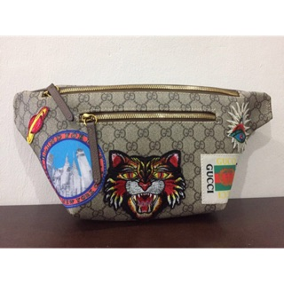 waistbag with patch harimau