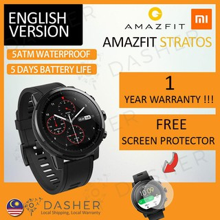 Amazfit Stratos 1.34 Inch Display Xiaomi Huami Pace 2 Mi Watch
