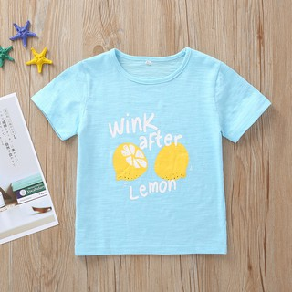 movias Cute Toddler Kids Baby Girl Boy Letter Floral T shirt Tops Tee Clothes