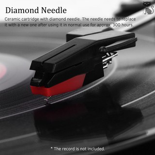 NEW Retro USB & BT-In Turntable Record Player 3 Speed Vintage Style Vinyl Record Player with Two Dynamic Speakers