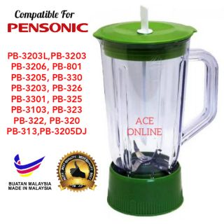 Pensonic Blender Jug Replacement Model PB-3203L,PB-3203,PB-3206, PB-801,PB-320..