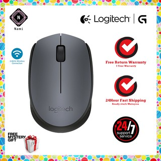 Genuine Logitech M170 Wireless Mouse -Grey (Double Bubble Wrap Packing)