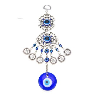 AthenaTurkish Blue Evil Eye Amulet Wall Hanging Home Decor Lucky Protection Pendant