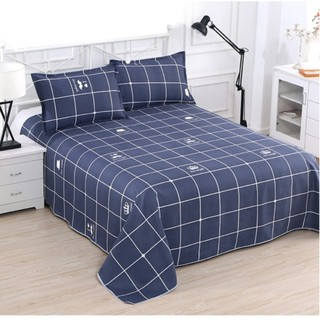 BEDSHEET 4-IN-1 New Queen Size Fitted Modern With Elastic Corner Cadar M11949D