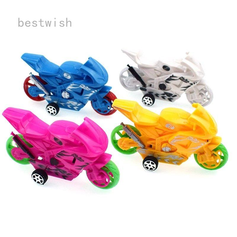 RETURN MOTORBIKE COLORFUL FAST FUN KIDS TOYS MODELS UK SELLER RANDOM