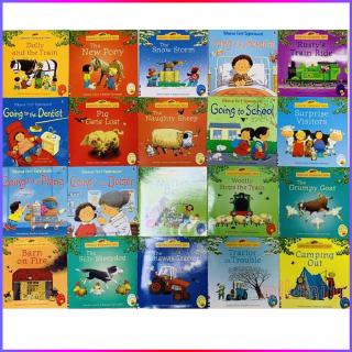 20Pcs Usborne Best Picture Books For Children And Baby Famous Story English 3-6 years old Educational Toy for Child