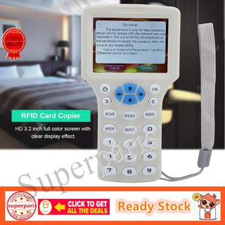 9Frequency Copy NFC Smart Card RFID Copier ID Reader Writer