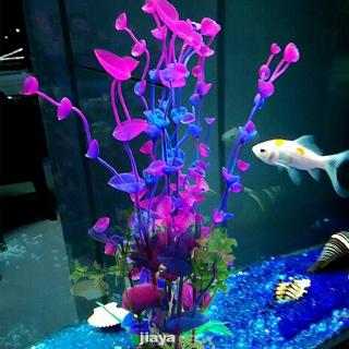Aquarium Artificial Plastic Green Fake Grass Fish Tank Ornament Decoration