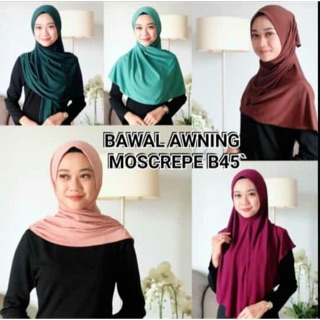 BAWAL INSTANT TRAVEL MOSSCREPE (ready stock)