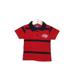 CM Junior Boy Stripe Collar Top