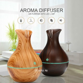 [Ready Stock]Original Air Aroma USB LED Ultrasonic Aroma Humidifier Essential Oil Diffuser Aromatherapy Purifier