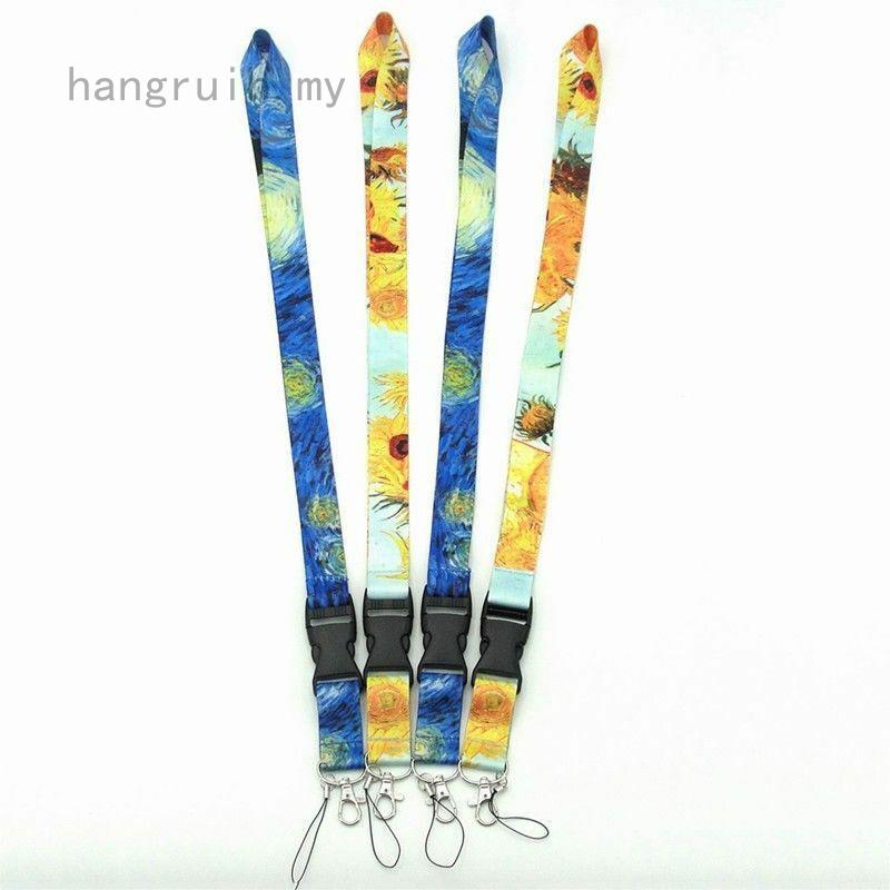 hangruih The latest universal Van Gogh star mobile phone lanyard Style Vintage Luxury Csy