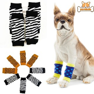 Pet Breathable Leg Sock for Dogs for Protecting Joint Dog Knee Pads to Keep Warm