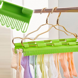 Towel Clothes Socks Clips Anti Skid Storage Rack Clamp