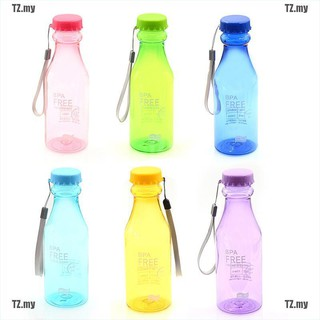 [TZ] 500ml bpa free portable water bottle leakproof plastic kettle for travel[MY]