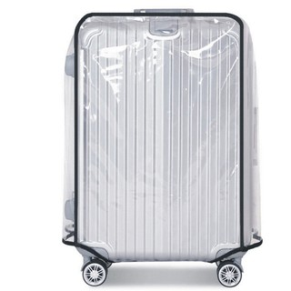 PVC Transparent Travel Luggage Protector Suitcase Cover Usable Waterproof