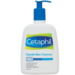 500ML CETAPHIL GENTLE SKIN CLEANSER 500 ML Expiry: 03/2021