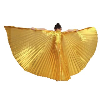 Toddler Kids Egypt Belly Wings Costume Belly Dance Accessories No Sticks