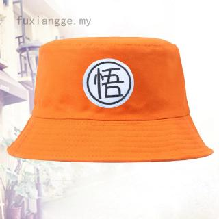 fuxiangge -MY Summer Dragon Ball Letter Embroidery Bucket Hat Cotton Fishermen Cap Casual Hats Unisex Sun Hat