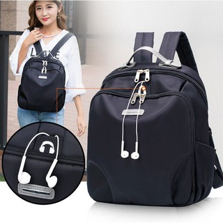 Water Proof Women Lady Nylon Casual Travel School Back Pack Bag