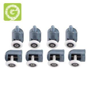 8Pc Castors Rolls Shower Rollers Sliding Door Roller