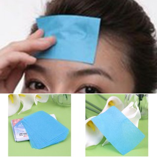50 Pcs Facial Oil Control Absorption Film Tissue Makeup Blotting Paper
