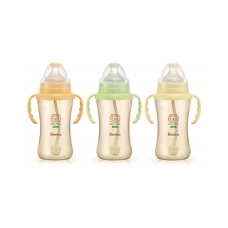 Simba PPSU WIDE NECK BOTTLE WITH STRAW & HANDLE (270ML)