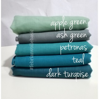 Tudung Bawal Cotton Voile (READY STOCK)  more colours