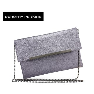 🇲🇾🇲🇾Ready StockDorothy Perkins Class Shine Dinner Clutch Bag