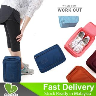 Ready Stock Waterproof Travel Pouch Organizer Tote Duffel Portable Shoes Storage Bag
