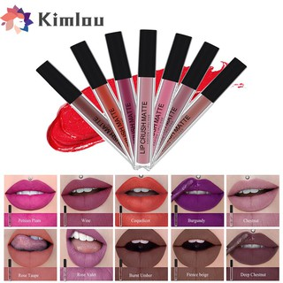 12Colors Kimlou Liquid Matte Long Lasting Lipstick