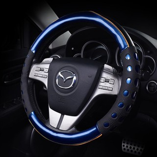 Reflective Faux Leather Steering-Wheel /China Dragon Design Car Steering Wheel Covers Car Interior