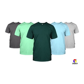 BOXY Microfiber Round Neck T-Shirt For Men's and Women's - Grey/Mint/F Green/Lt Grey/I Paradise