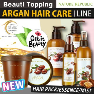 Nature Republic Argan Essential Deep Hair Care Line [Beauti topping NA-1]