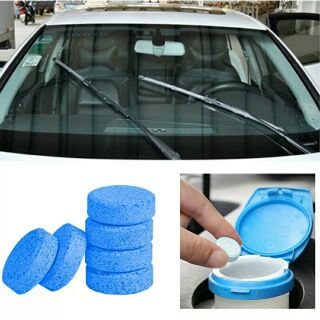 Hot Windshield Glass Wash Wiper Fluid Car Solid Cleaner Auto Window Cleaning