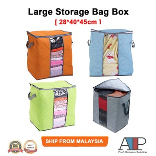 Foldable Storage Bag Clothes Blanket Organizer Box Holder Organizer