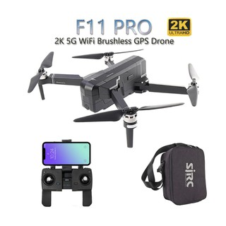 SJRC F11 PRO 5G WiFi RC Drone GPS Foldable Drones With 2K Camera HD Brushless Quadcopter Drone
