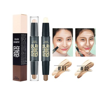 Double-ended 2 in 1 Contour Stick Face Contouring Highlighter Pen
