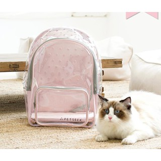 Travel Transport Cage Portable Pet Cat Travel Carrier Breathable Bag Tote Outdoor Backpack