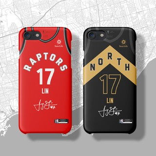 Toronto Raptors Lin Shuhao jersey iphone7 8 XSMAX XR 6s plus matte phone case