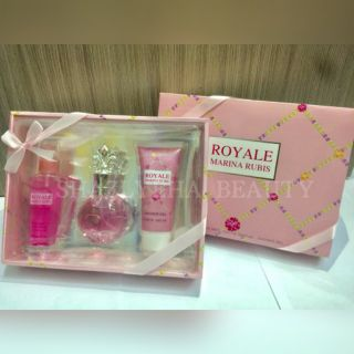 SE PERFUME SET 3 IN 1 (ROYALE MARINA RUBIS)