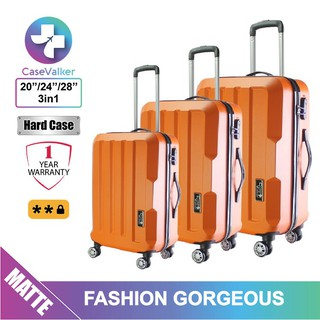 Case Valker Fashion Gorgeous ABS Hard Case 3 in 1 Luggage Bag Set (28