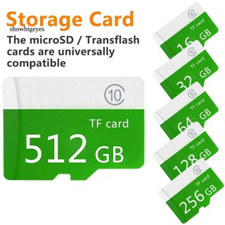 SBE_1-512G External Micro-SD Memory TF Card Data Music Video for Mobile PC Camera