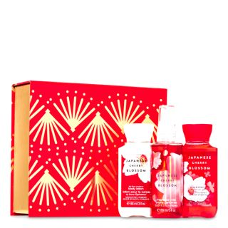 Bath & Body Works Japanese cherry blossom Gift Box Set