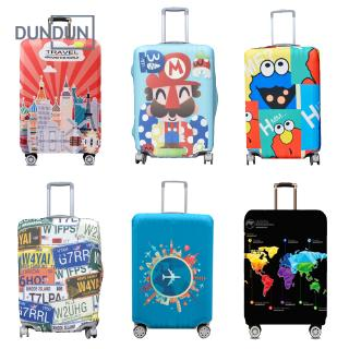Ready Stock Elastic Thick Luggage Cover Luggage Protector Case Cover Dustproof Suitcase Bag