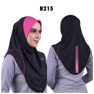 RAQTIVE SPORT HIJAB WOMEN [FREE SHIPPING+FREE TOILETERIES BAG+FREE GIFT] READY STOCK