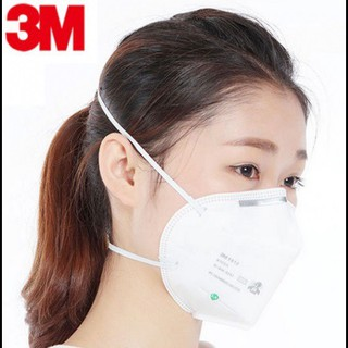 3M 9010 N95 Mask (Individual Pack), Adult Haze Mask