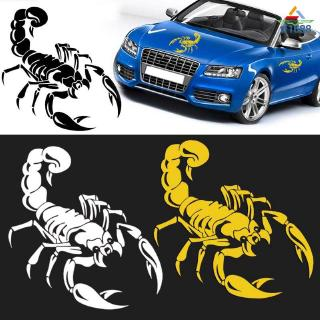 Refective 3D Scorpion Motorcycle Car Stickers For BMW VW Audi Ford Toyota