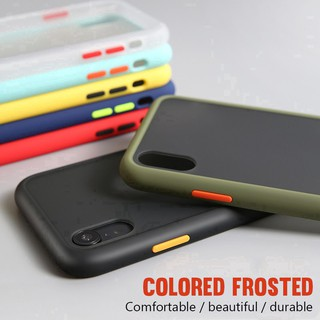 Huawei Y9S Nove 5T 4 5 Pro V30 9X Play 3 Translucent Hard Plastic Phone Case Shockproof Casing Soft Edges Cover